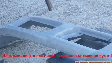 Цинковые и алюминиевые покрытия