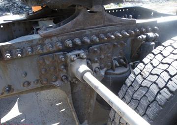 Рама грузового полуприцепа